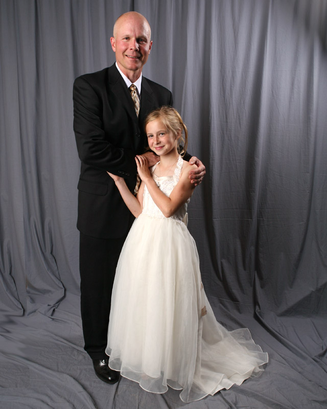 Vashon Father-Daughter Dance, 2009!