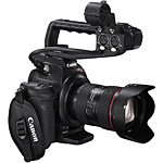 Canon Cinema EOS C100 video imaging!